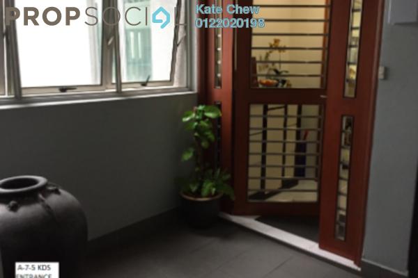 For Sale Condominium at Kiara Designer Suites, Mont Kiara Freehold Fully Furnished 3R/3B 1m