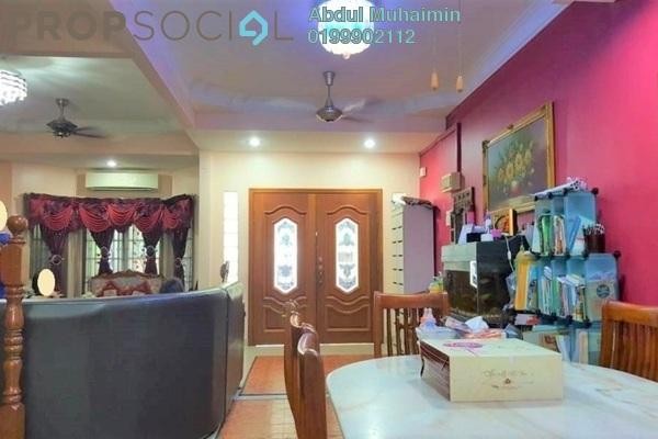 Terrace For Sale in Taman Cempaka, Pandan Indah Freehold Semi Furnished 5R/3B 730k