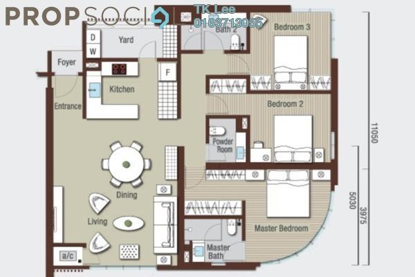 Serviced Residence For Sale in VIVO Suites @ 9 Seputeh, Old Klang Road Freehold Semi Furnished 3R/3B 928k