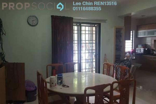 Terrace For Sale in Damai Rasa, Alam Damai Freehold Semi Furnished 4R/3B 1.48m