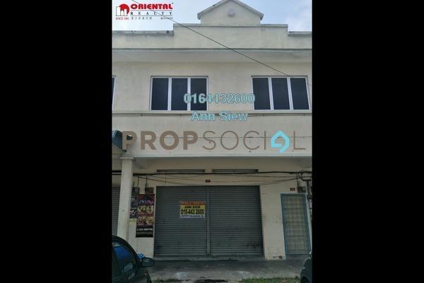 Shop For Rent in Bandar Pulai Jaya, Simpang Pulai Freehold unfurnished 0R/0B 1.5k
