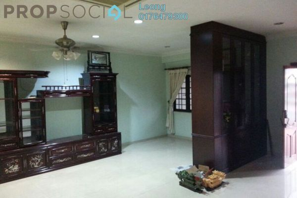 Terrace For Rent in Taman Bukit Maluri, Kepong Freehold Semi Furnished 4R/3B 2.1k