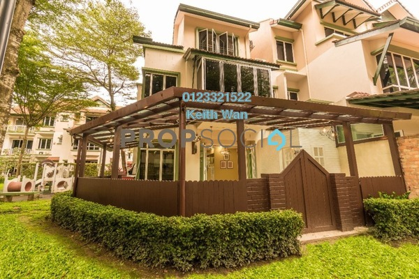 Terrace For Rent in Adora, Desa ParkCity Freehold Fully Furnished 4R/4B 7k