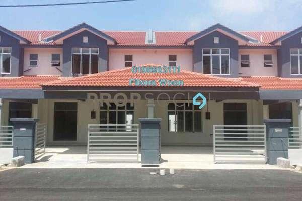 Terrace For Sale in Taman Sutera Wangi, Batu Berendam Leasehold Unfurnished 4R/3B 380k