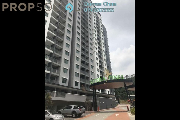 Condominium For Rent in Sutera Pines, Bandar Sungai Long Freehold unfurnished 3R/2B 1.4k