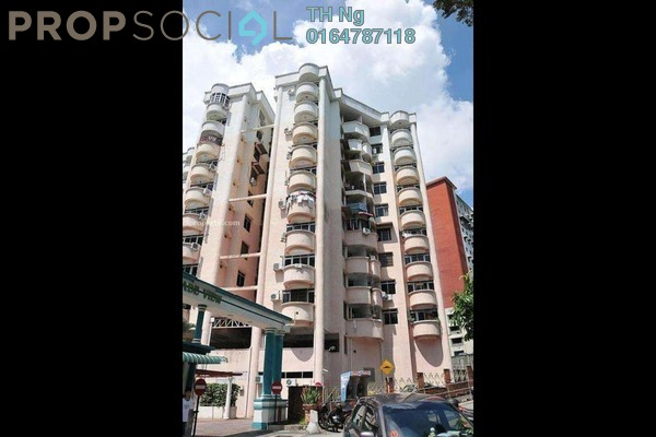 Condominium For Sale in Jade View, Bukit Gambier Freehold Semi Furnished 3R/2B 360k