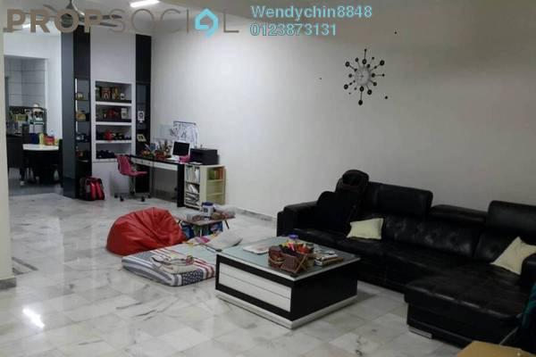 Link For Sale in Vistaria Residences, Bandar Puchong Jaya Freehold Semi Furnished 4R/3B 890k