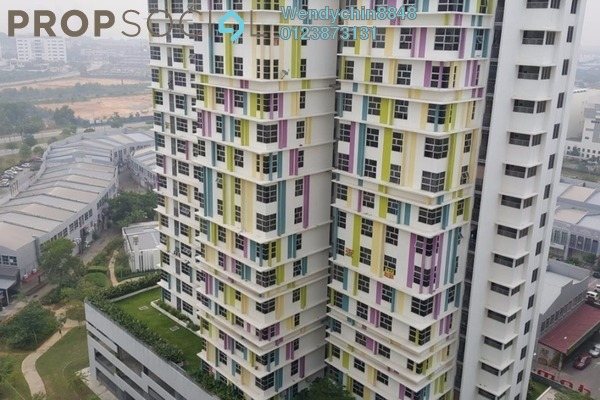 Apartment For Rent in The Domain, Cyberjaya Freehold Semi Furnished 1R/1B 1k