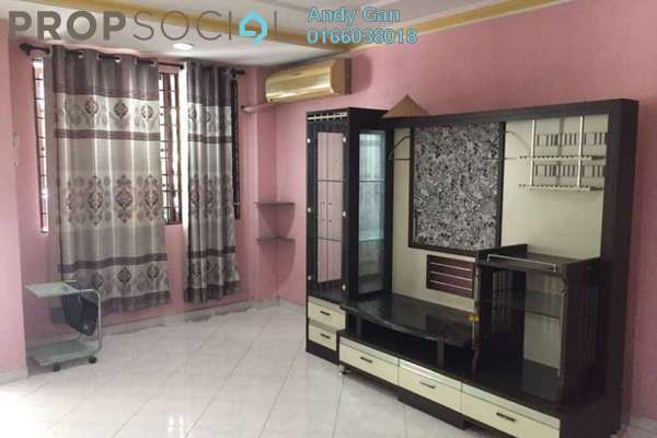 Terrace For Sale in Taman Mastiara, Jalan Ipoh Freehold Semi Furnished 4R/3B 680k