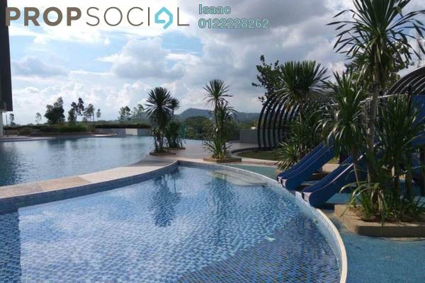 Condominium For Rent in Kiara Plaza, Semenyih Freehold Semi Furnished 3R/2B 1.5k