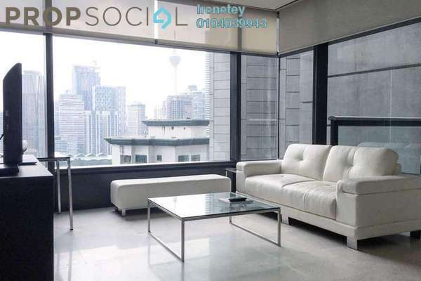 Condominium For Rent in The Troika, KLCC Freehold Fully Furnished 1R/1B 6k