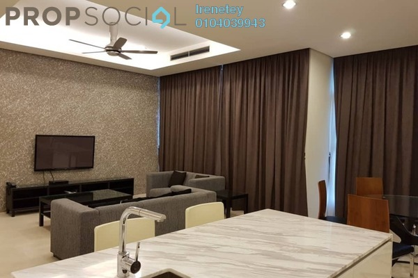 Condominium For Rent in Quadro Residences, KLCC Freehold Fully Furnished 3R/4B 8k