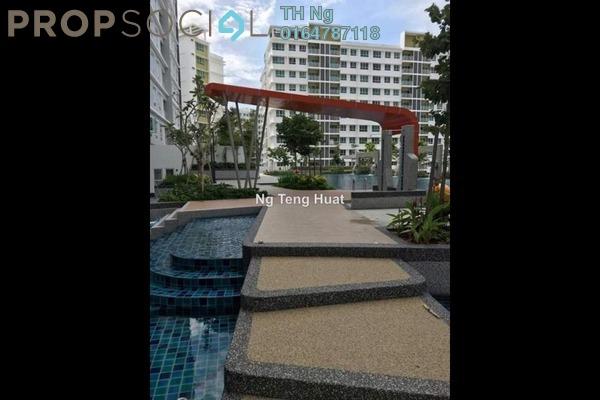 Serviced Residence For Rent in Solaria Residences, Sungai Ara Freehold Fully Furnished 3R/2B 1.8k