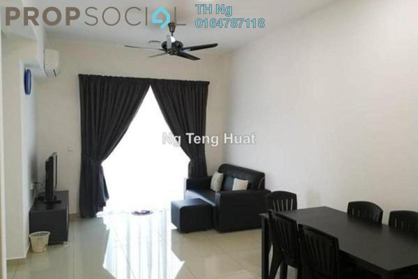 Serviced Residence For Rent in Solaria Residences, Sungai Ara Freehold Fully Furnished 3R/2B 1.7k