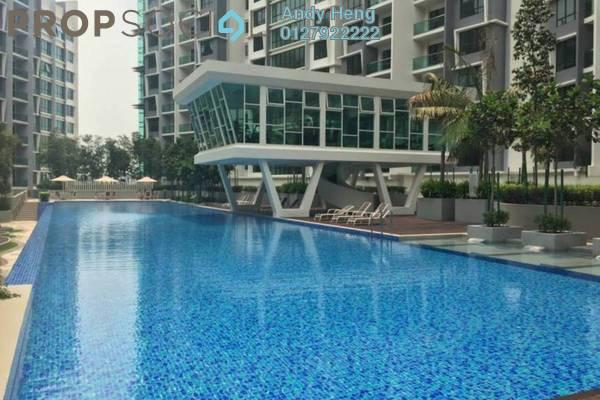 Condominium For Rent in Impiana Residences, Iskandar Puteri (Nusajaya) Freehold Semi Furnished 1R/1B 1.3k