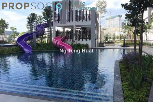 Serviced Residence For Rent in Solaria Residences, Sungai Ara Freehold Unfurnished 3R/2B 1.2k