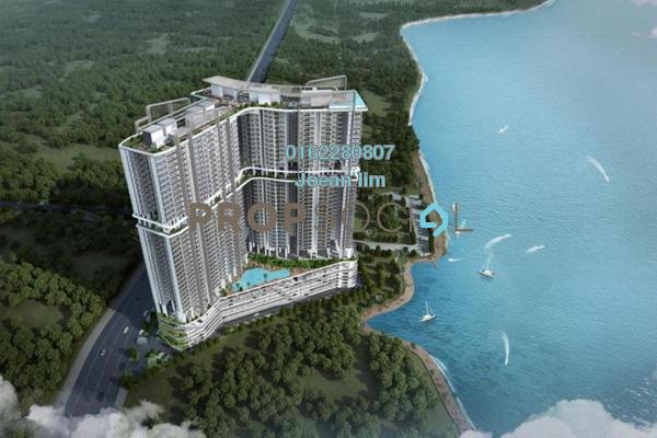 For Sale Condominium at Sovereign Bay, Bandar Baru Permas Jaya Freehold Semi Furnished 1R/1B 400k
