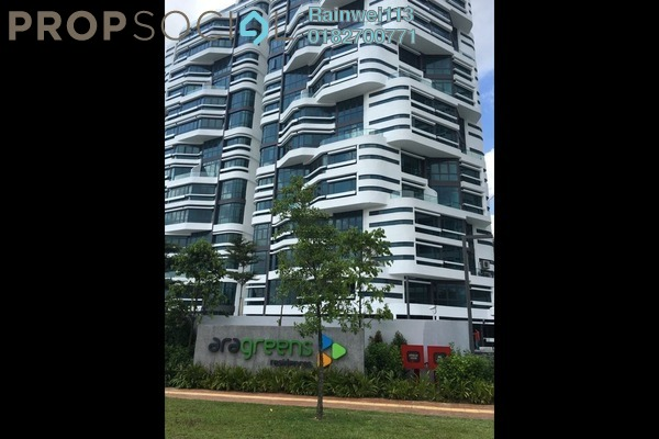 Condominium For Sale in AraGreens Residences, Ara Damansara Freehold fully_furnished 2R/1B 620k