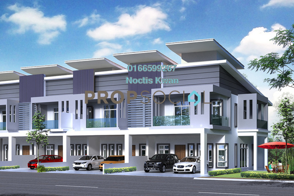 Terrace For Sale in Diamond Hill, Putrajaya Freehold Unfurnished 4R/4B 454k