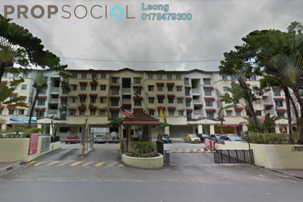 Apartment For Rent in Bayu Apartment, Damansara Damai Freehold Unfurnished 3R/2B 700translationmissing:en.pricing.unit