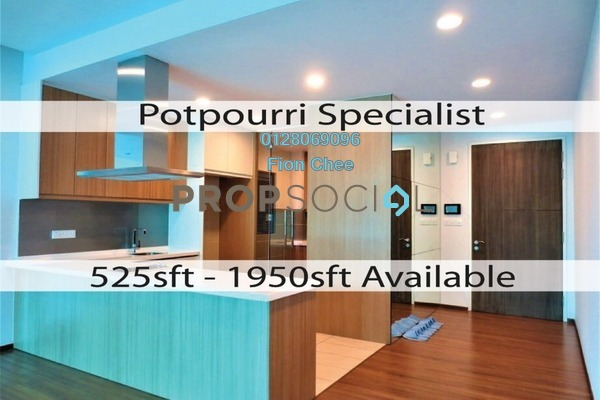 Serviced Residence For Rent in The Potpourri, Ara Damansara Freehold Semi Furnished 3R/3B 4.8k