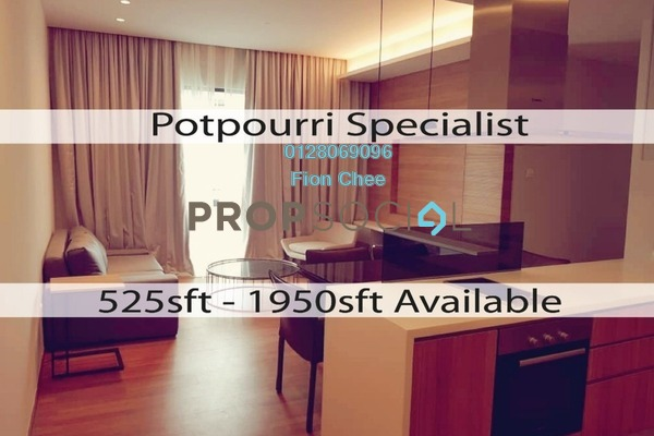 Serviced Residence For Sale in The Potpourri, Ara Damansara Freehold Fully Furnished 2R/2B 900k