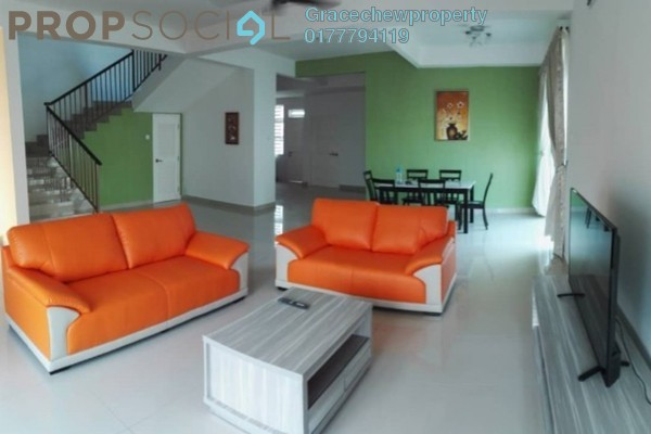 Semi-Detached For Rent in Desaru Utama, Kota Tinggi Freehold Fully Furnished 5R/4B 4.28k