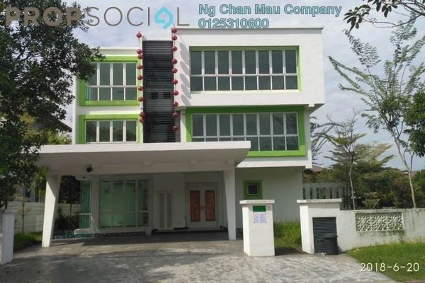 Semi-Detached For Sale in Jade Hills, Kajang Freehold Semi Furnished 0R/0B 3.6m