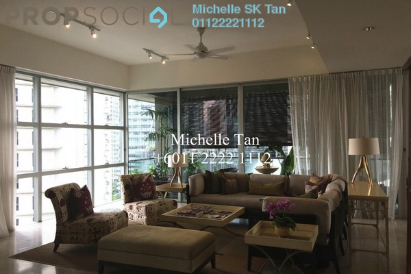 Duplex For Rent in Park Seven, KLCC Freehold Semi Furnished 5R/7B 18k