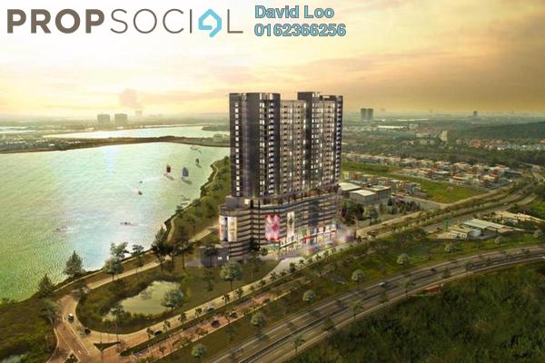 Condominium For Sale in Saville @ D'Lake, Puchong Freehold Semi Furnished 2R/2B 316k