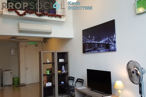Duplex For Rent in The Scott Soho, Old Klang Road Freehold Fully Furnished 0R/2B 2.2k