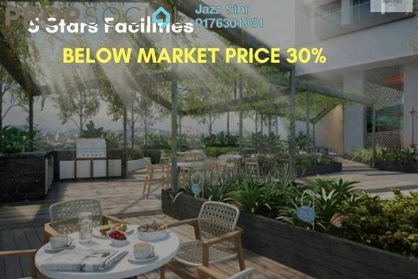 Condominium For Sale in Saville @ D'Lake, Puchong Freehold Unfurnished 4R/2B 450k