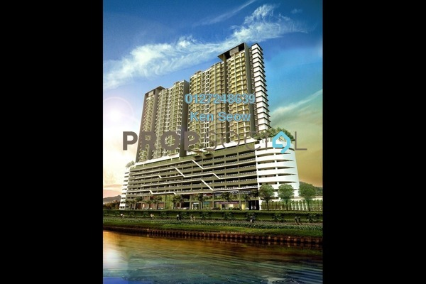 Condominium For Sale in Saville @ D'Lake, Puchong Leasehold Unfurnished 1R/1B 315k