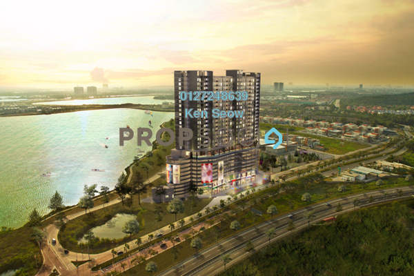 Condominium For Sale in Saville @ D'Lake, Puchong Freehold Unfurnished 3R/2B 410k