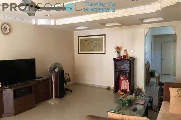 Terrace For Sale in Section 5, Bandar Mahkota Cheras Freehold Semi Furnished 4R/3B 465k