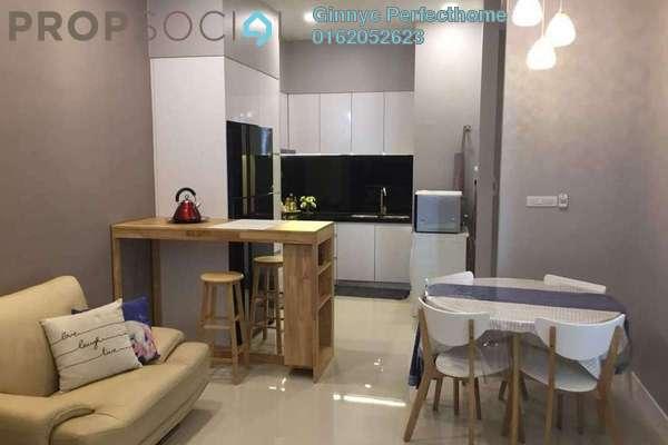 Serviced Residence For Rent in The Azure Residences, Kelana Jaya Freehold Fully Furnished 2R/2B 2.5k
