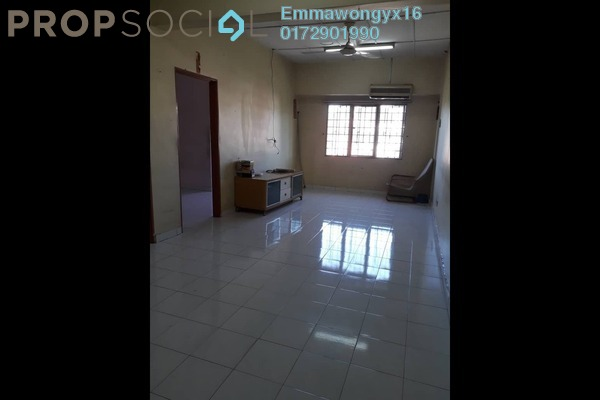 Apartment For Sale in Taman Mastiara, Jalan Ipoh Freehold Semi Furnished 3R/2B 200k