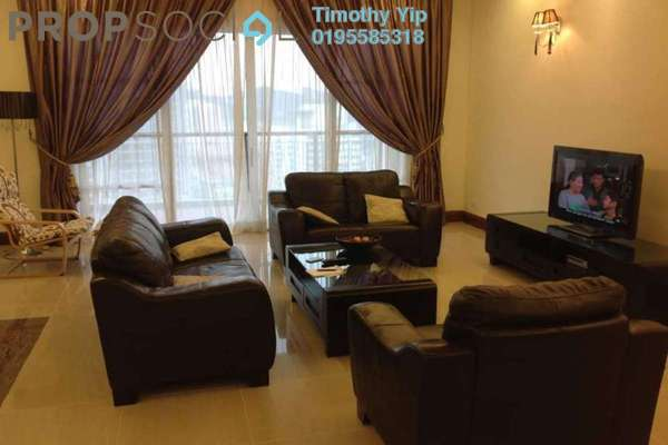 Condominium For Sale in Mont Kiara Aman, Mont Kiara Freehold Fully Furnished 4R/3B 1.5m