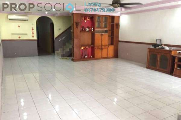 Terrace For Sale in Taman Wangsa Permai, Kepong Freehold Semi Furnished 4R/4B 8m
