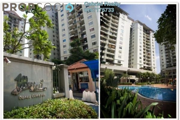For Rent Condominium at Mentari Condominium, Bandar Sri Permaisuri Freehold Semi Furnished 5R/3B 2.6k