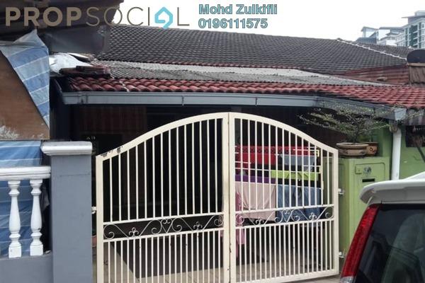 Terrace For Sale in Taman Nirwana, Ampang Freehold Semi Furnished 3R/2B 500k