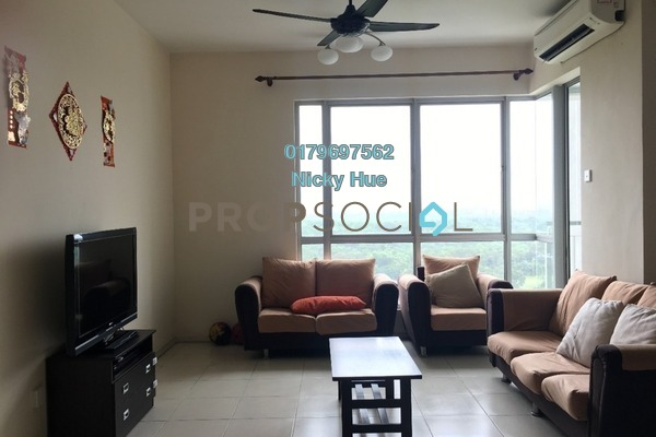 Condominium For Rent in Casa Indah 2, Tropicana Freehold Fully Furnished 2R/2B 2.3k
