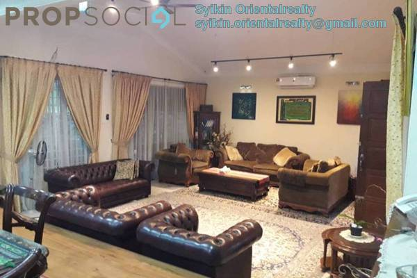 Bungalow For Sale in Section 3, Shah Alam Freehold Semi Furnished 7R/5B 1.55m