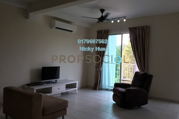 Condominium For Rent in Casa Indah 2, Tropicana Freehold Semi Furnished 2R/2B 2.4k