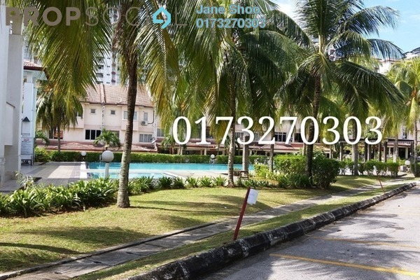 Townhouse For Rent in Bukit OUG Townhouse, Bukit Jalil Freehold Semi Furnished 3R/3B 1.35k