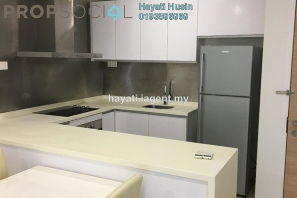 For Sale Serviced Residence at Camellia, Bangsar South Freehold Semi Furnished 1R/1B 620k