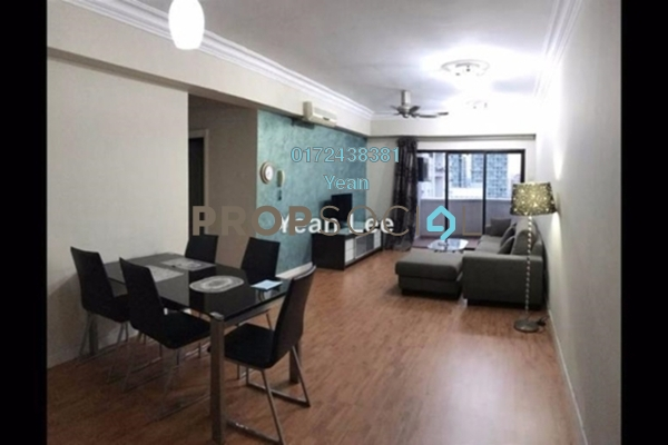 Condominium For Sale in Angkasa Impian 2, Bukit Ceylon Freehold Fully Furnished 3R/2B 650k