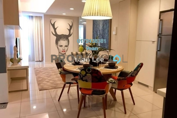 Condominium For Sale in VERVE Suites, Old Klang Road Freehold Fully Furnished 2R/2B 780k
