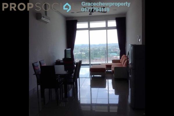 Serviced Residence For Rent in The Senai Garden, Senai Freehold Fully Furnished 3R/2B 1.7k