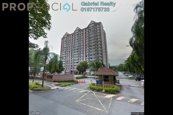 Apartment For Sale in Iris Apartment, Taman Desa Freehold Semi Furnished 2R/2B 300k